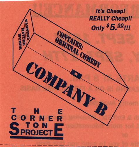 company b the original show