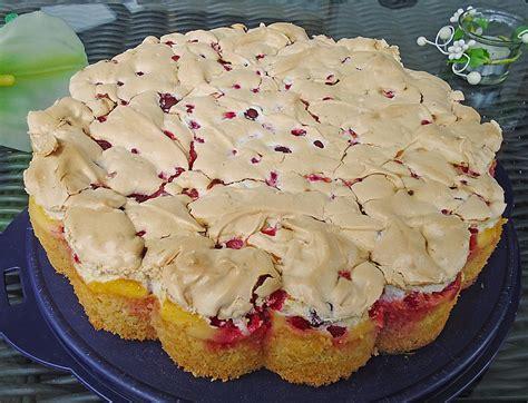 johann lafer rezepte kuchen johannisbeer pudding baiser kuchen rezept mit bild