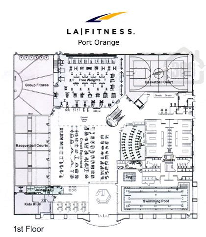 La Fitness Floor Plan | la fitness port orange