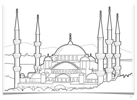 printable pictures kaaba 17 best images about islamic for kids coloring kid and