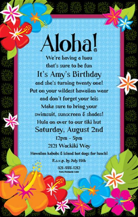 free hawaiian themed wedding invitations bridal shower invitations free hawaiian bridal shower