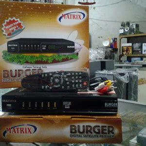 Harga Digital Matrix Burger fitur dan spesifikasi receiver matrix burger mpeg2