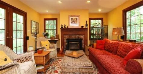 awkward living room needs decorating help worldly gray colonial living room in yellow and red colonial living