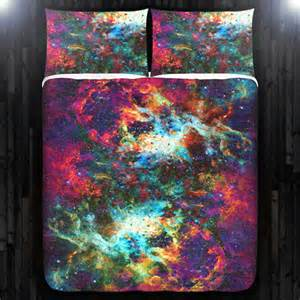 outer space duvet cover outer space nebula galaxy duvet cover bedding size
