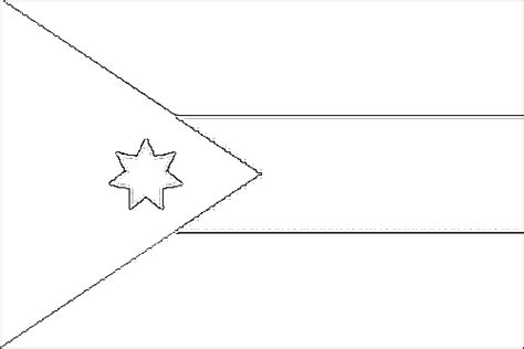 jordan flag free colouring pages