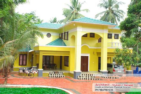 house plans with photos in kerala low cost house in kerala with plan photos 991 sq ft khp