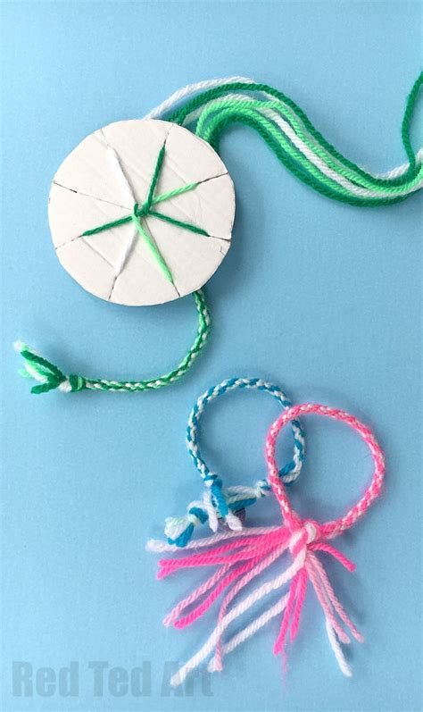 How To Make Bracelets Out Of Paper - easy friendship bracelets with cardboard loom ted