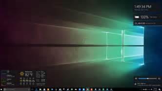 Computer Desktop Widgets Win10 Widgets Lets You Keep Tabs On Your Drive Cpu