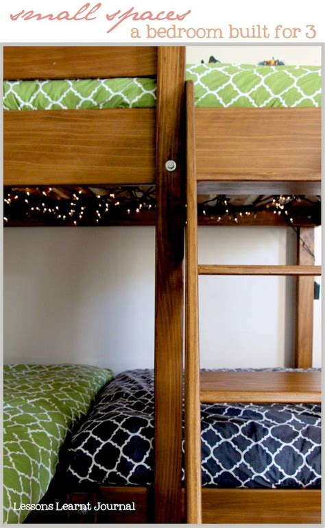 kids beds for small spaces a bedroom for three