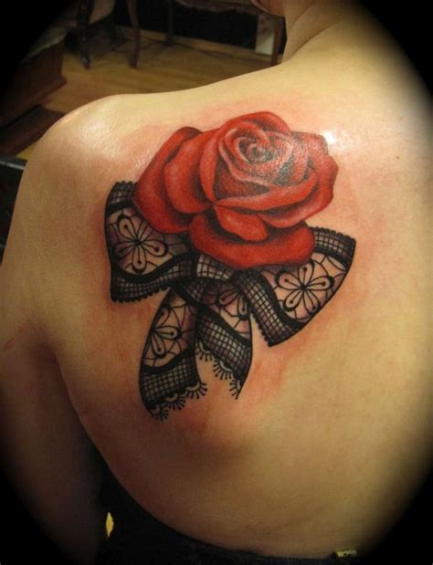 rose tattoo on ass celebrate femininity with 50 of the most beautiful lace