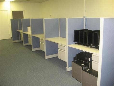 call center cubicle liquidation for sale from fort