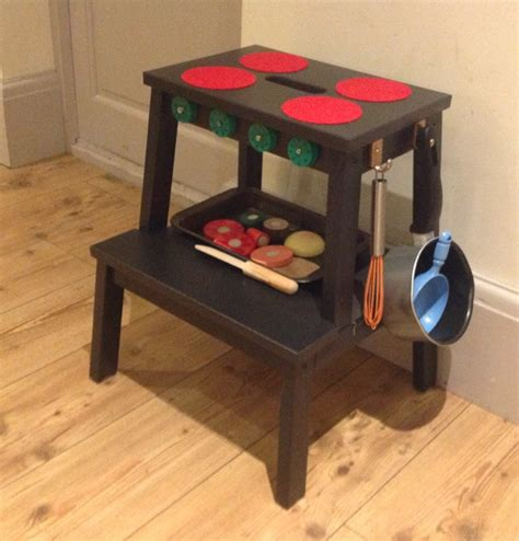 f rsiktig children s stool ikea play kitchen ikea hack craft ideas for kids