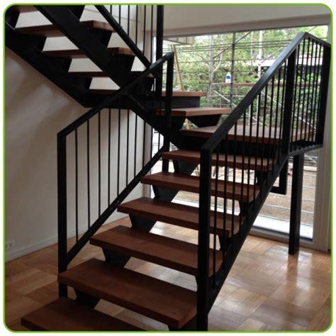 escaleras metalicas interiores escaleras para interiores con fierro y madera grupo