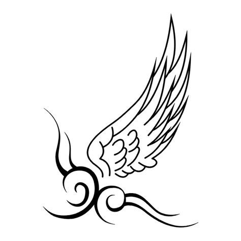 带翅膀纹身手稿素材 翅膀纹身手稿素材 情侣翅膀纹身手稿 九九网