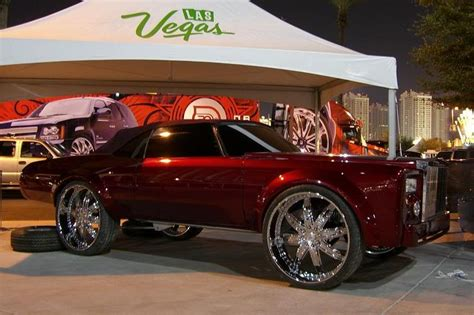 big truck with chrysler rims donk cars gargling gas