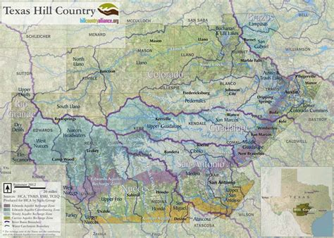hill country of texas map maps hill country alliance
