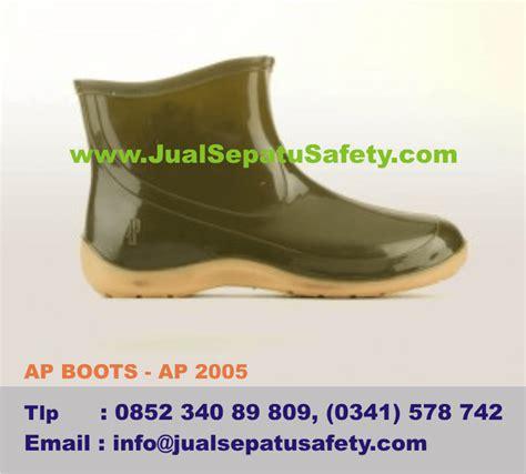 Sepatu Boot Ap Safety sepatu boots wanita untuk berkebun dan bercocok tanam