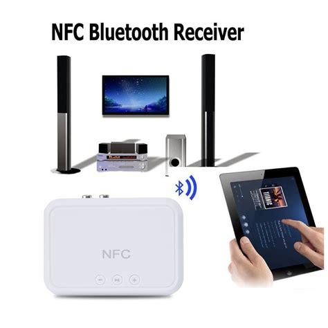 As Nfc Enabled Desktop Wireless Bluetooth Audio Receiver nfc wireless bluetooth receiver audio 4 1 portable bluetooth adapter nfc enabled 3 5mm rca