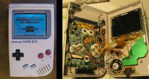 game boy advance cartridge mod diy engineer puts game boy advance sp innards in original