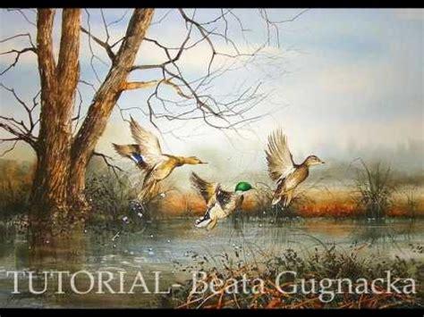 watercolor duck tutorial watercolor painting tutorial beata gugnacka art