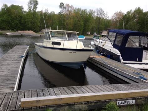 used aluminum fishing boat for sale ontario custom built welded aluminum fishing boat 1989 used boat