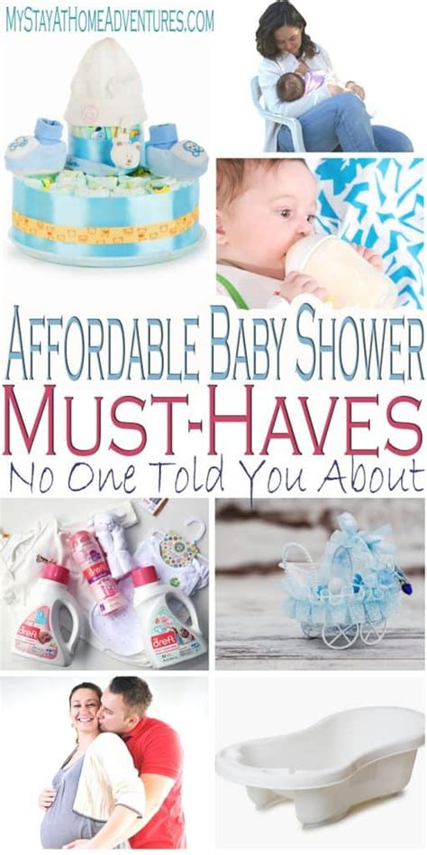 affordable baby shower must haves no one told you about