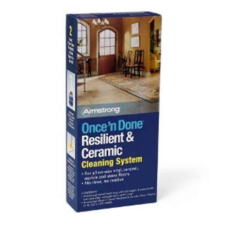 Armstrong Once N Done Resilient And Ceramic Floor Cleaner by Armstrong Floor Cleaners Armstrong Floor Care