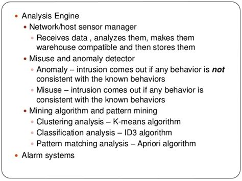 pattern matching algorithm analysis analysis and design for intrusion detection system based