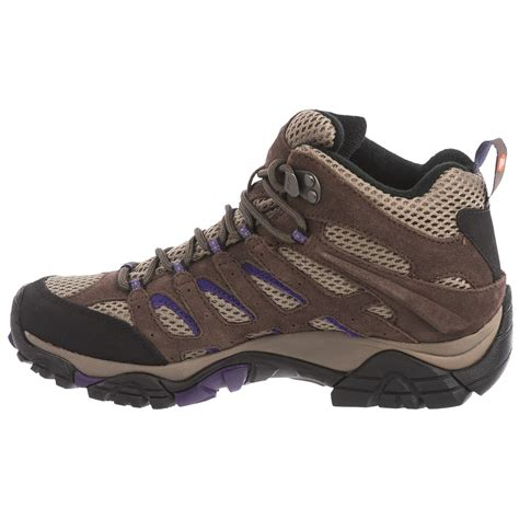 hiking boots for merrell moab ventilator mid hiking boots for