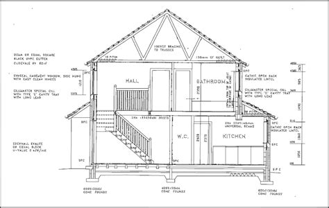 Plan Section Drawing by Types Of Drawings For Building Design Designing