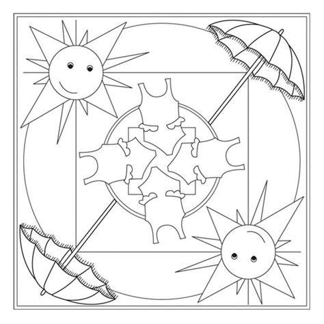 summer mandala coloring pages mandala coloring page crafts and worksheets for
