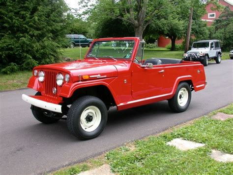 1970 jeep commando 1970 jeep jeepster commando information and photos