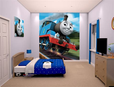 thomas the tank engine mural murals for kids