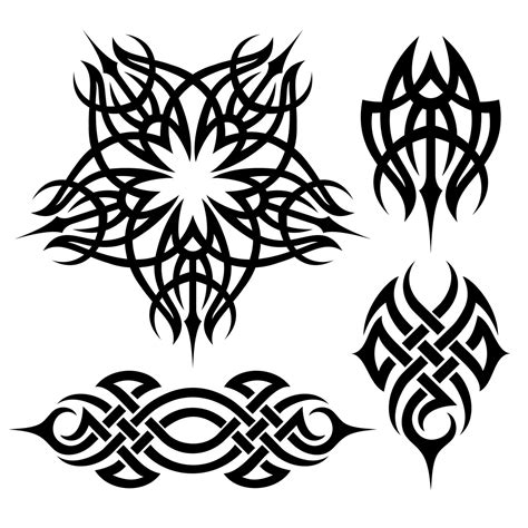 tribal sketches tattoo gudu ngiseng