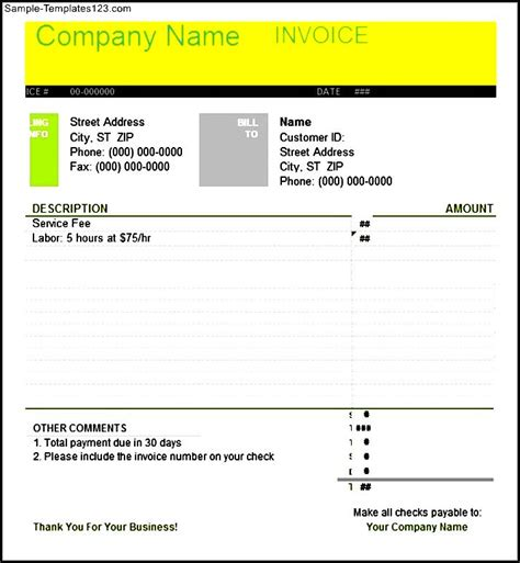 business letter template invoice business letter invoice sle templates sle templates