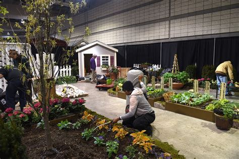 bidwell training center stages  gardens  home show