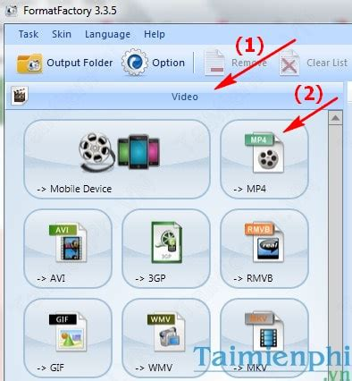 format factory repair mp4 video to mp4 converter with format factory
