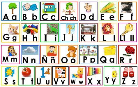 imagenes en ingles del alfabeto el abecedario en preescolar