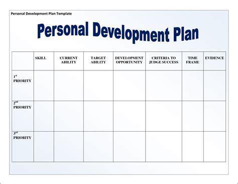 leadership template leadership development plan template template design