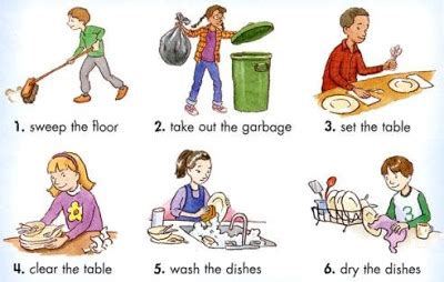 teaching my son to do household chores this summer