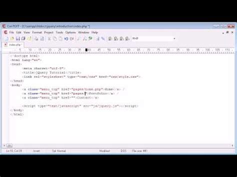 ajax jquery tutorial youtube jquery tutorial 175 loading content with ajax and fade