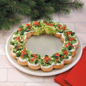 christmas wreath appetizers goodness appetizer wreath recipe