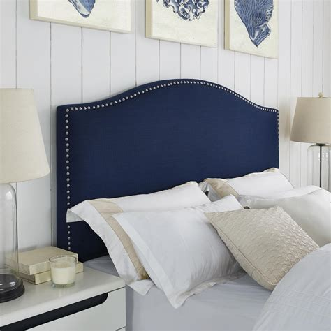 headboard with nailheads dorel asia better homes and gardens grayson linen