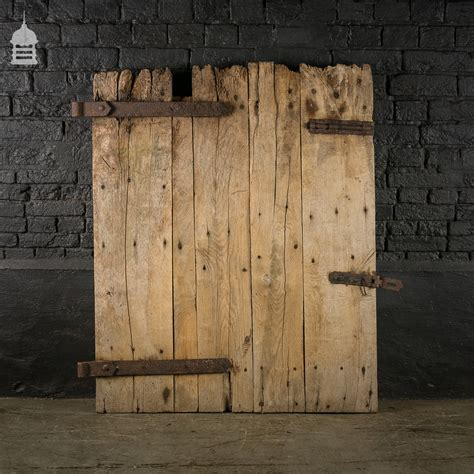 Reclaimed Antique Elm Ledged Barn Door Recycled Barn Doors