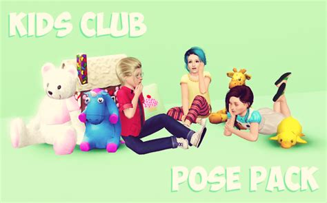 Child Bedroom Wall Stickers empire sims 3 kids club pose pack by twinkle