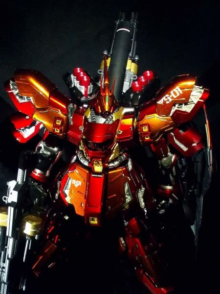 Cat Tamiya Acrylic Paint Colour X 1 Black 1 100 master grade sazabi ver ka custom painted by jimmy