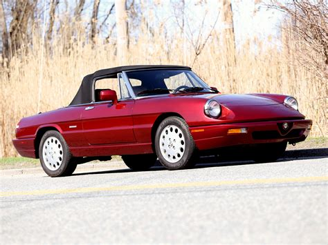 1990 Alfa Romeo Spider by 1990 Alfa Romeo Spider 115 Pictures Information And