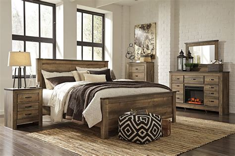 trinell panel bedroom set signature design  reviews furniture cart
