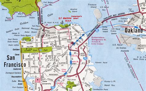 san francisco bridges map san francisco map golden gate bridge
