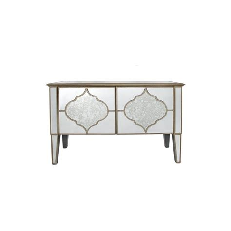 Mirrored Console Cabinet by Morocco 2 Door Mirrored Sideboard Cabinet
